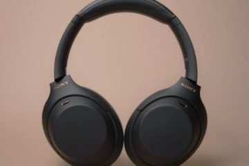 Sony Noise Cancelling Headphones WH1000xm4 Review